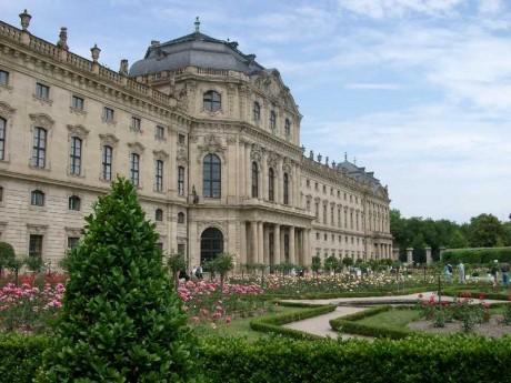 Residencia de Wurzburg 460x345 El palacio de Wurzburg, el Versalles alemán
