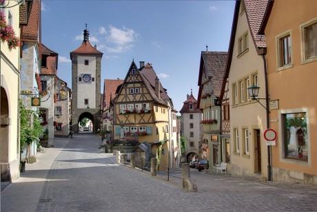 Rothenburg 460x308 Rothenburg, una preciosa ciudad medieval en Baviera