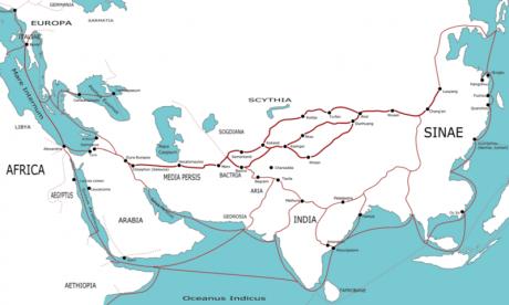 Ruta de la Seda 460x276 La Ruta de la Seda, un viaje mítico