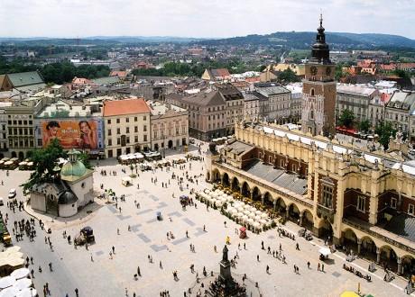 Rynek Glówny 460x330 Rynek Glówny, la plaza medieval más grande de Europa