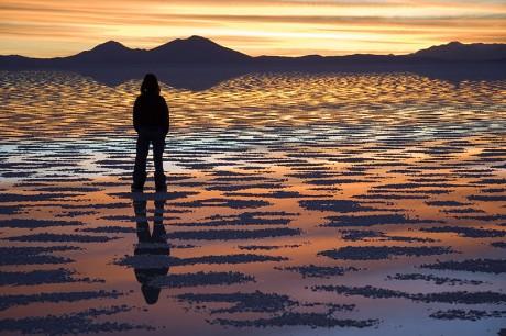 Salar de Uyuni 460x306 El salar de Uyuni, el más grande del mundo