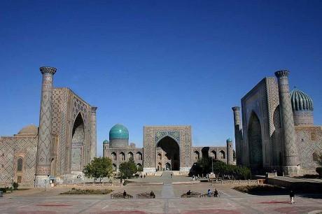 Samarkand Registan 460x306 Samarcanda y las leyendas de Oriente