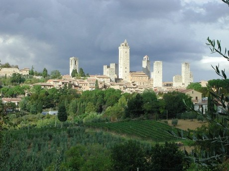 San Gimignano 460x345 Las torres de San Gimignano