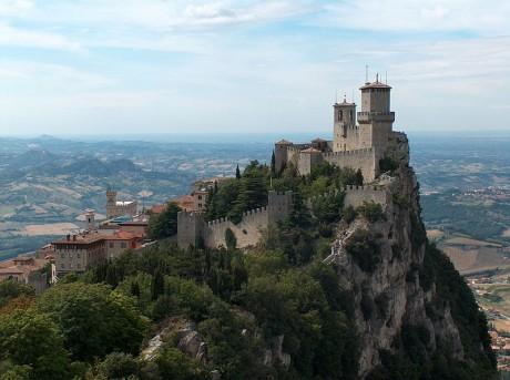 San Marino 460x343 San Marino, el país en una montaña