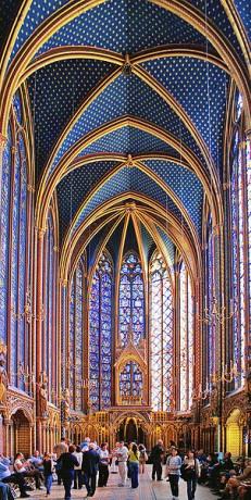 Santa Capilla de Paris 231x460 La Santa Capilla de París, una maravilla gótica