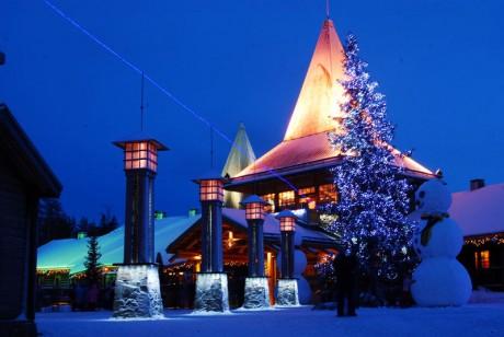 Santa Claus Village 460x308 El pueblo de Papá Noel