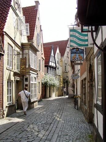 Schnoor 345x460 Schnoor, el barrio mágico de Bremen