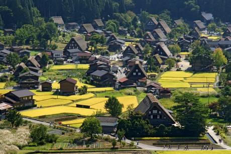 Shirakawa 460x306 Shirakawa y Gokayama, aldeas de tranquilidad