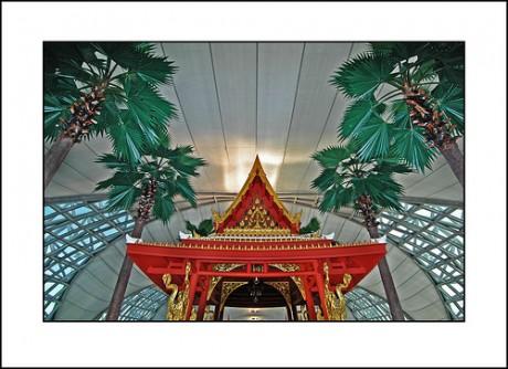 Suvarnabhumi Airport 460x334 Los mejores aeropuertos del mundo