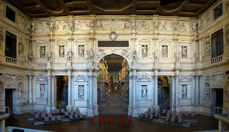 Teatro Olímpico de Vicenza 460x265 El sorprendente Teatro Olímpico de Vicenza