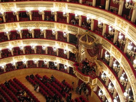 Teatro San Carlos 2 460x345 El Teatro de San Carlos, en Nápoles