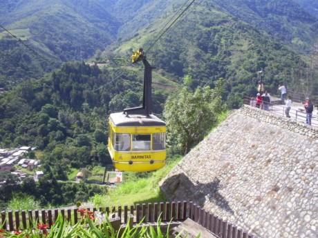 Teleferico 460x345 El teleférico de Mérida, el más alto del mundo