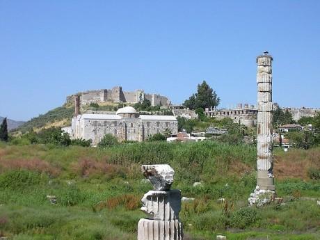 Templo de Artemisa actualidad 460x345 El templo de Artemisa en Éfeso