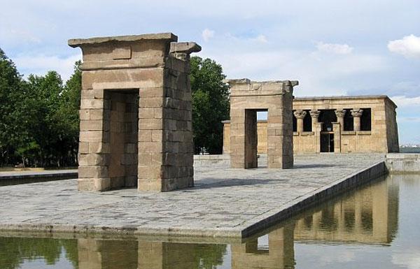 Templo de Debod Madrid Un templo egipcio en Madrid