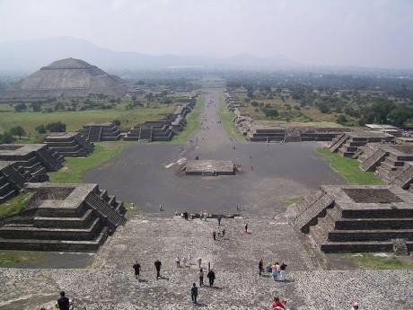Teotihuacan 460x345 Teotihuacan, la ciudad antigua más visitada de México