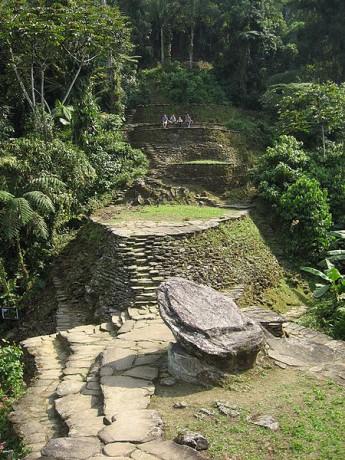 Teyuna 345x460 Teyuna, la ciudad perdida de la sierra colombiana
