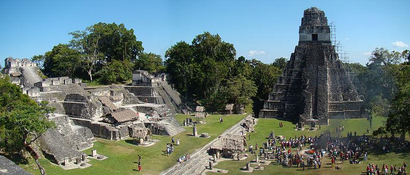 Tikal, unas ruinas mayas de películaBlog de viajes