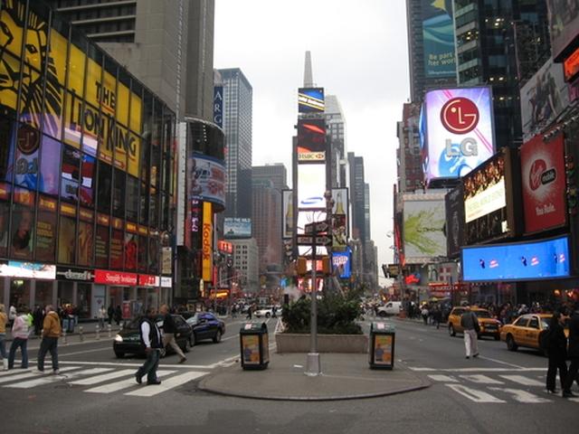 Times square Despedimos el año en Times Square ?
