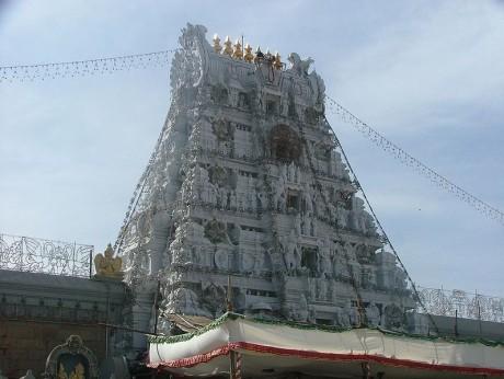 Tirumala temple 460x346 Vimanas, los carros de los dioses