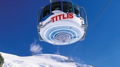 Titlis Rotair 460x258 Transportes suizos de récord