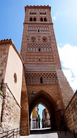 Torre de San Martín Teruel 258x460 La Torre de San Martín, símbolo de Teruel