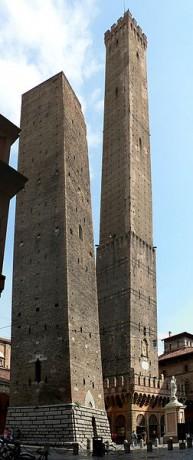 Torres de Bolonia 193x460 Las torres inclinadas de Bolonia