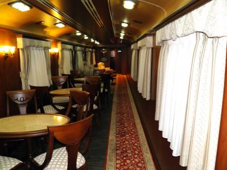 Transcantábrico interior 460x345 El Transcantábrico, una fantástica experiencia ferroviaria