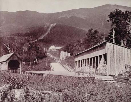 Tren cremallera Mount Washington 460x357 Los trenes cremallera más antiguos del mundo