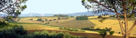 Umbria Panorama 460x129 Umbría, el corazón verde de Italia