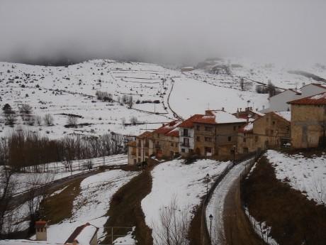 ValdelinaresPueblo 460x345 Frío y nieve en Valdelinares