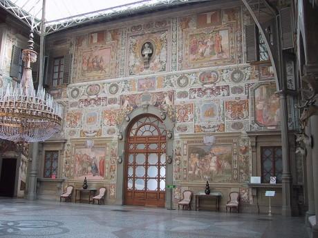 Villa medicea La Petraia1 460x345 Las villas de los Médici en la Toscana