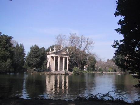Villa borghese 460x345 Villa Borghese, naturaleza y arte en Roma