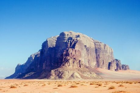 WadiRum 460x306 El Wadi Rum, el desierto de Lawrence de Arabia
