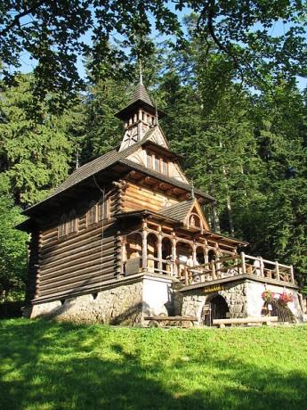 Zakopane Kaplica Jaszczurowka 345x460 El encanto de Zakopane