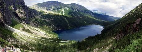 Zakopane Panorama Lago Morskiego 460x170 El encanto de Zakopane