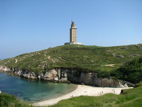 a corunha torre hercules A Coruña, ciudad de sal, mar y cultura