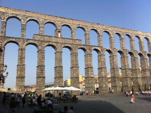 acueducto de segovia 2.000 años del acueducto de Segovia