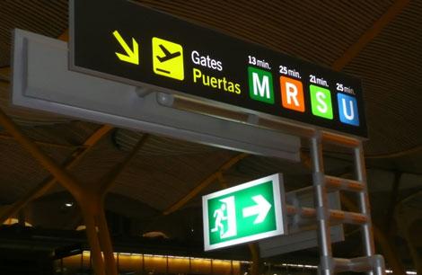 aeropuerto madrid indicaciones Algunos consejos para llevarlo mejor posible en los aeropuertos