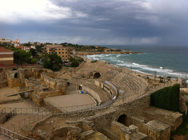 anfiteatro de Tarragona El anfiteatro romano de Tarragona