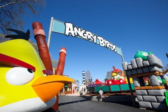 angry birds parque El parque de Angry Birds