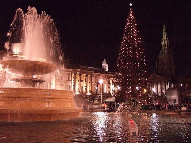 arbol de navidad londres Navidad en Londres