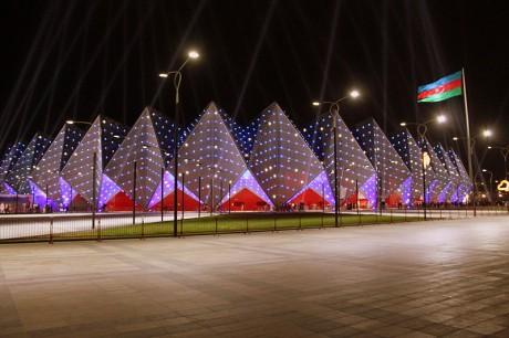 baku 460x306 El Baku Crystal Hall, sede del Festival de Eurovisión