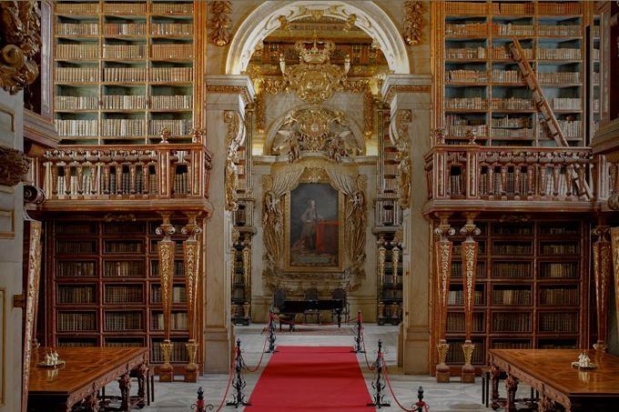 biblioteca joanina coimbra La Biblioteca Joanina
