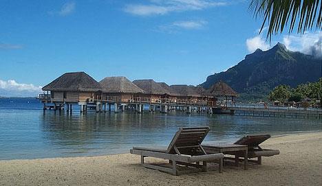 bora bora playa tahiti Conseguir las vacaciones más baratas por Internet