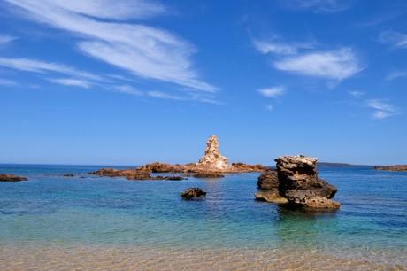 cala pregonda 460x306 La Cala Pregonda, una playa única en Menorca