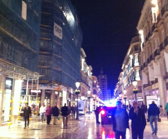 calel larios malaga La calle Larios de Málaga