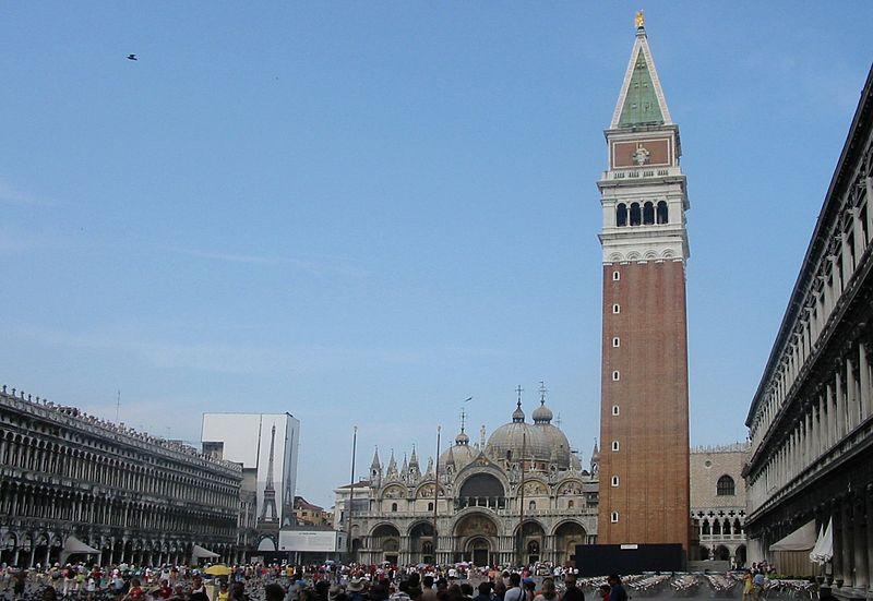 campanile venecia El Campanile de Venecia