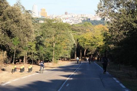 casa de campo 460x306 Casa de Campo, el parque más grande de Madrid