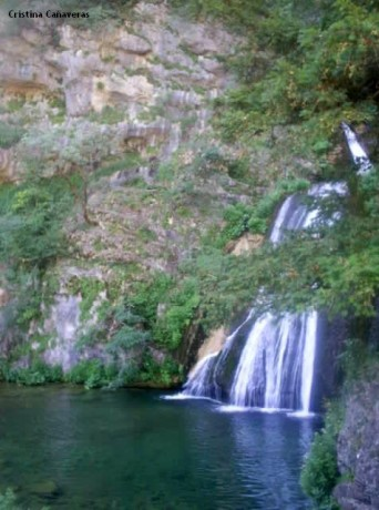 cascada1 342x460 Los chorros del río Mundo en Riópar