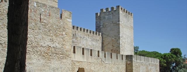 castillo de san jorge El Castillo de San Jorge de Lisboa
